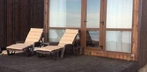 VIP-домики на Косе